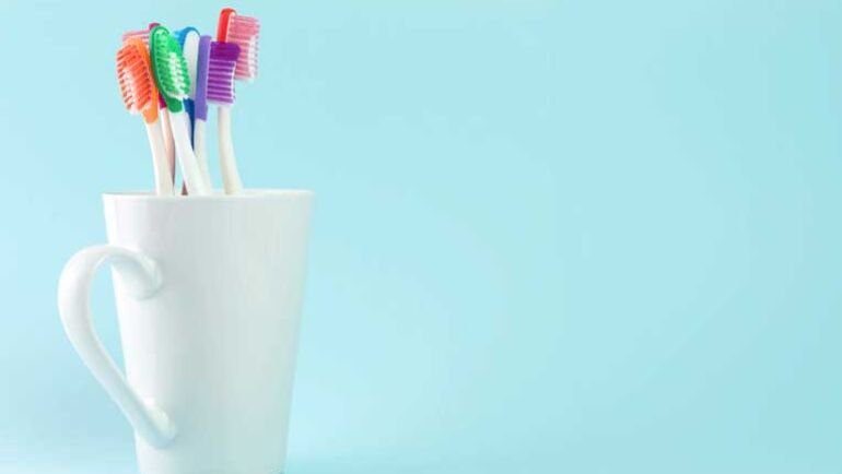 Don't want to leave your toothbrush in the bathroom